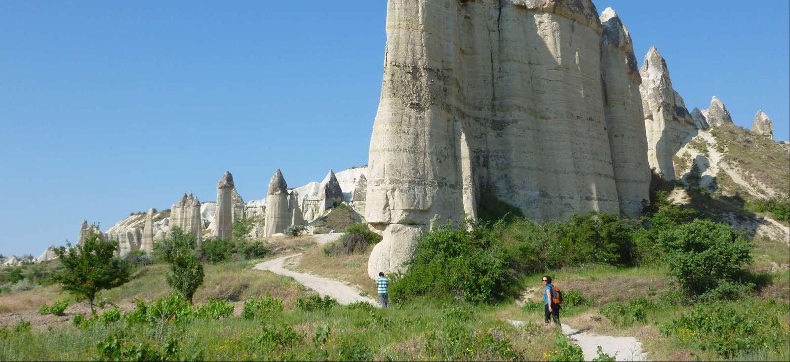 Voyage à pied : Petite randonnée des fées (Cappadoce)