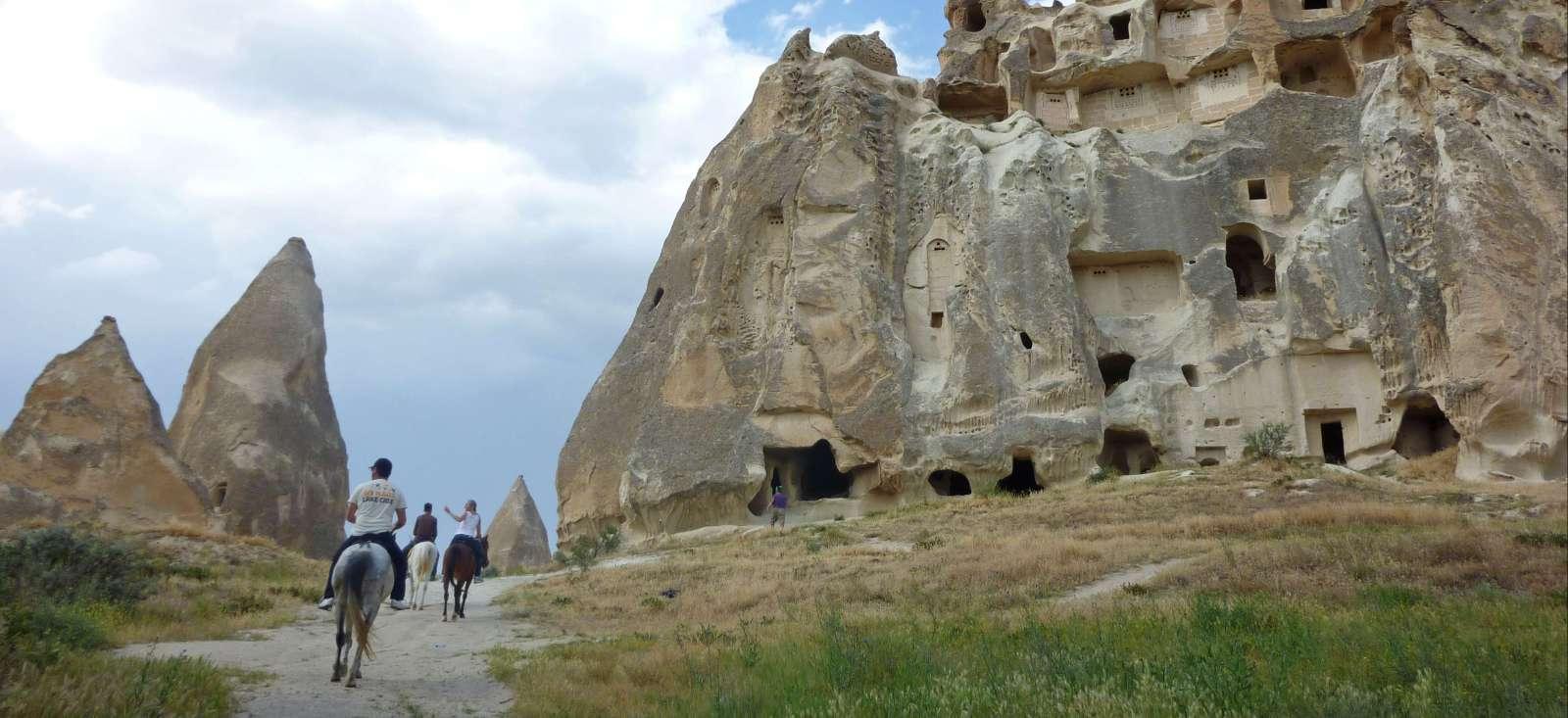 Voyage avec des animaux : Initiation équestre en Cappadoce