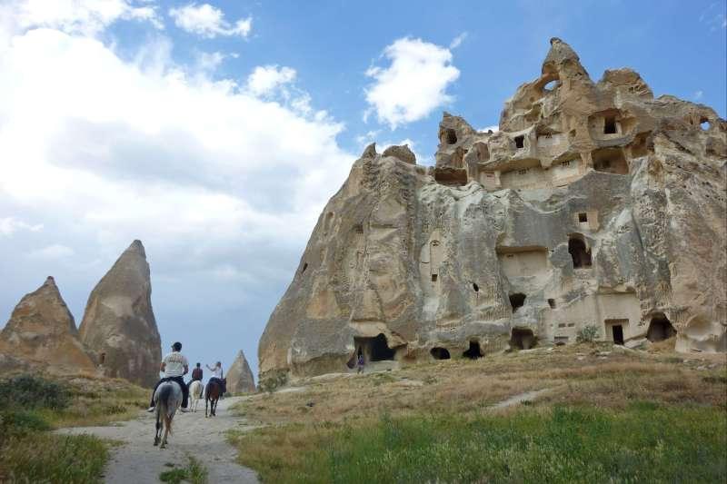 Image Initiation équestre en Cappadoce
