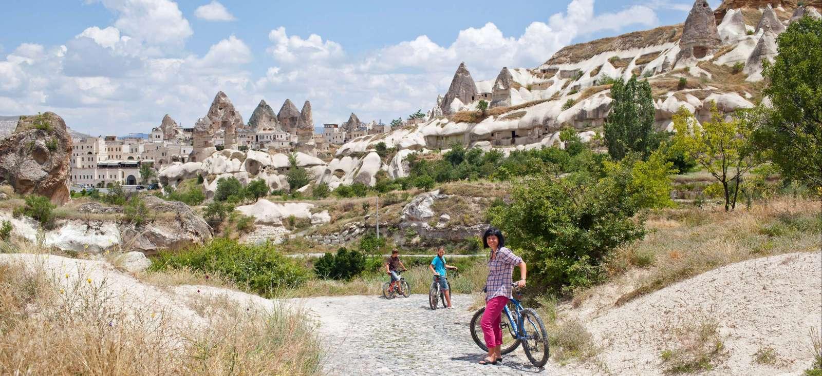 Voyage à pied : Fais pas « i » Fais le pacha en Cappadoce!