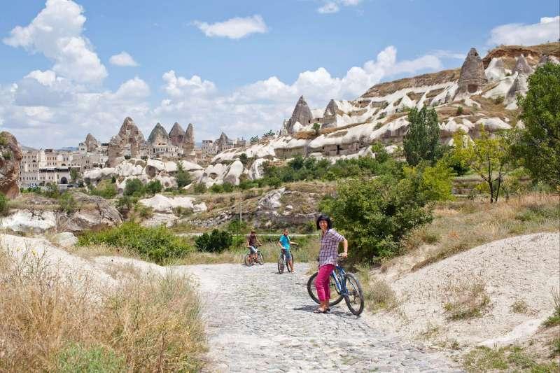 Voyage avec des animaux : Fais pas çi, Fais le pacha en Cappadoce!
