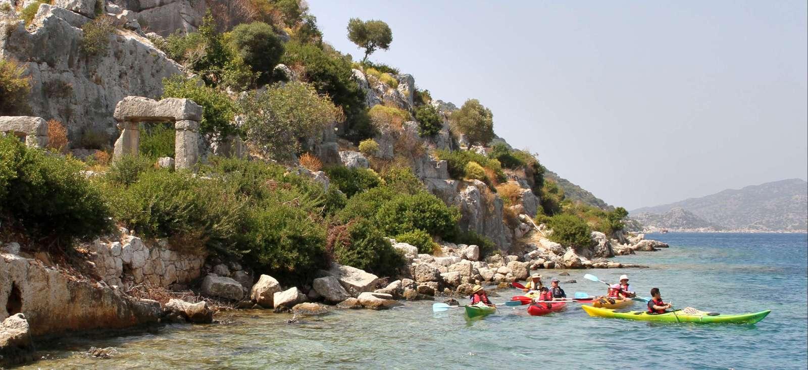 Voyage sur l'eau : 1 - 2 - 3� Lycie !