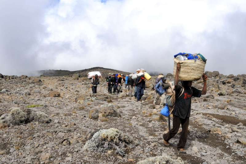 Ascension Kilimandjaro par la voie Machame