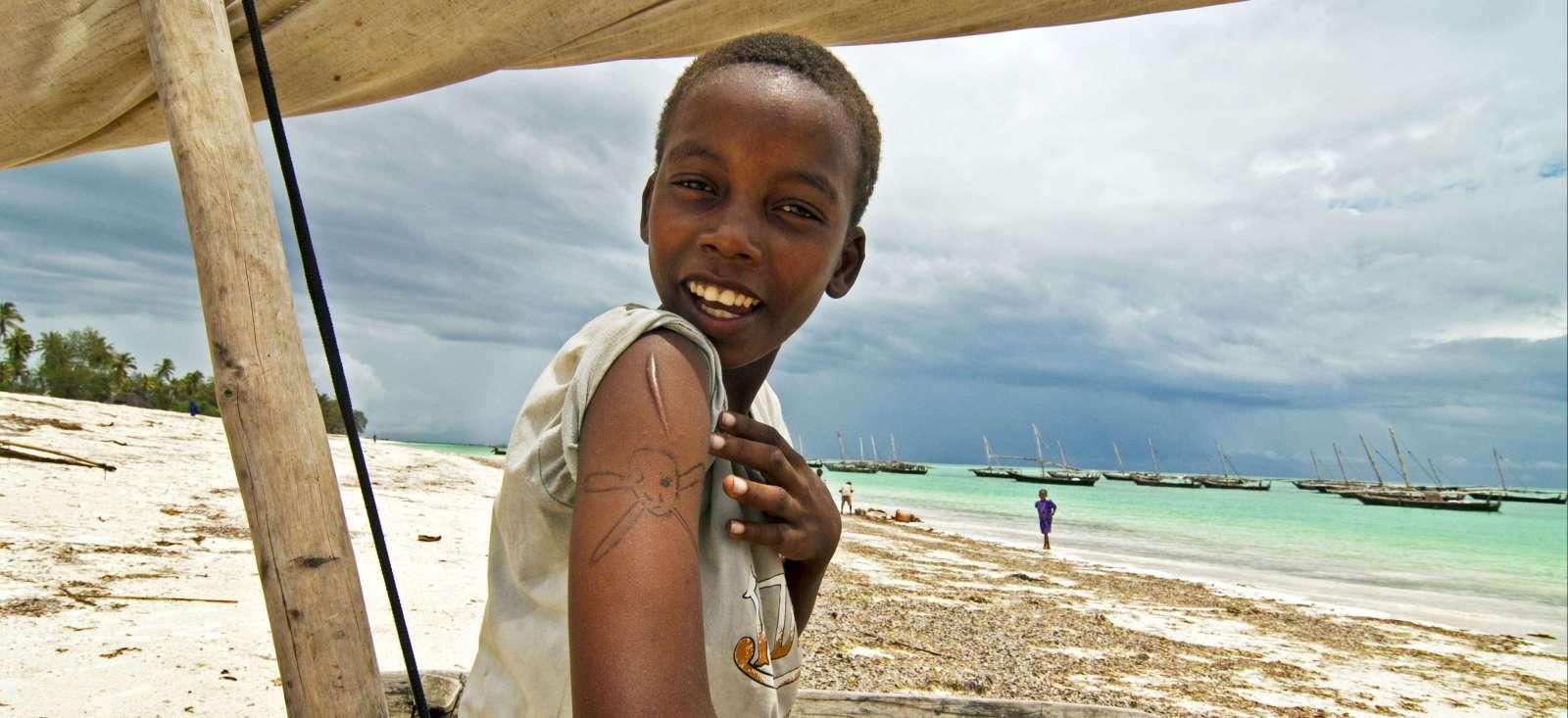 Voyage à pied : Z\'en rêve de Zanzibar
