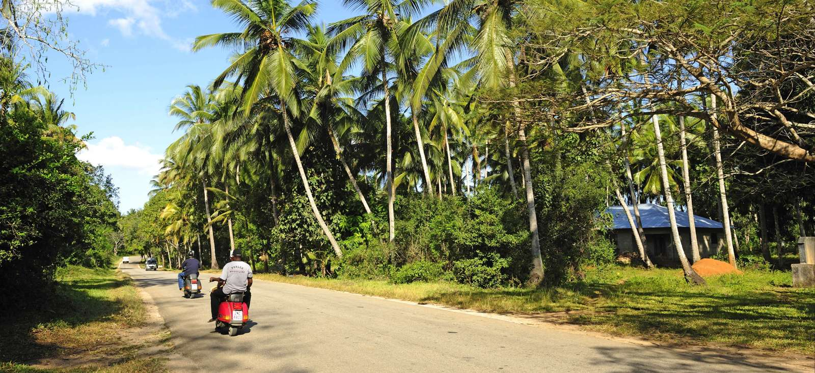 Voyage à pied : Zanzibar: Tu veux ou tu vespa !