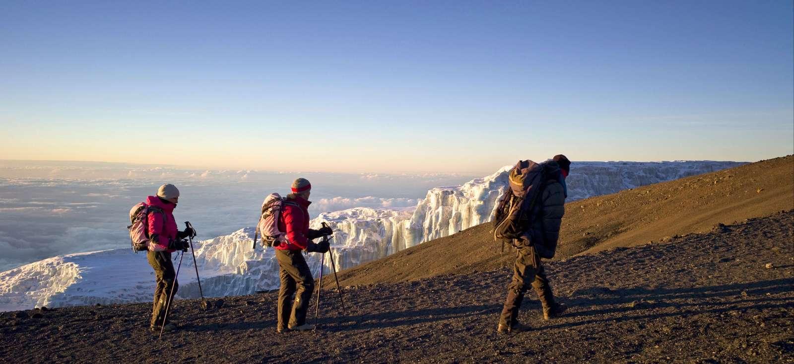 Voyage à pied : Ascension du mont Kilimandjaro