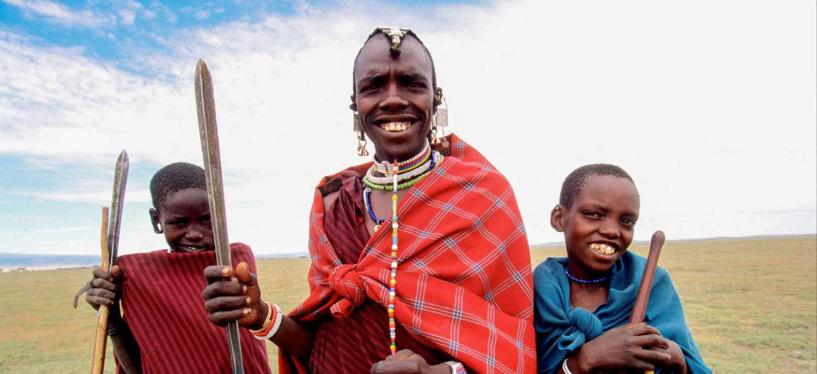 Voyage à pied : Ma petite tribu en pays masai !
