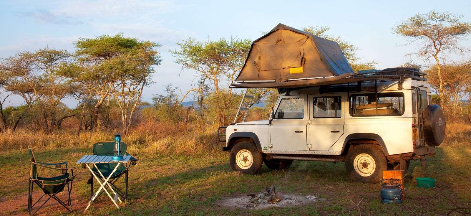 Image Safari & randonnée en territoire Masaï