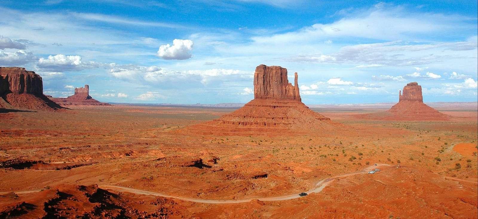 Voyage à pied États-Unis : La ruée vers l\'Ouest Américain