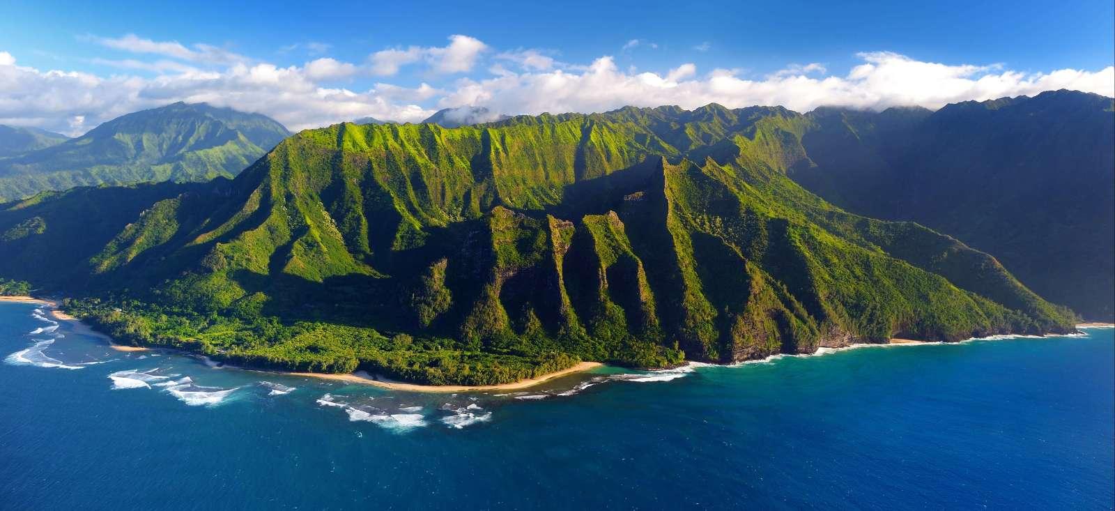Voyage à pied : D\'Hawaï à Kauai