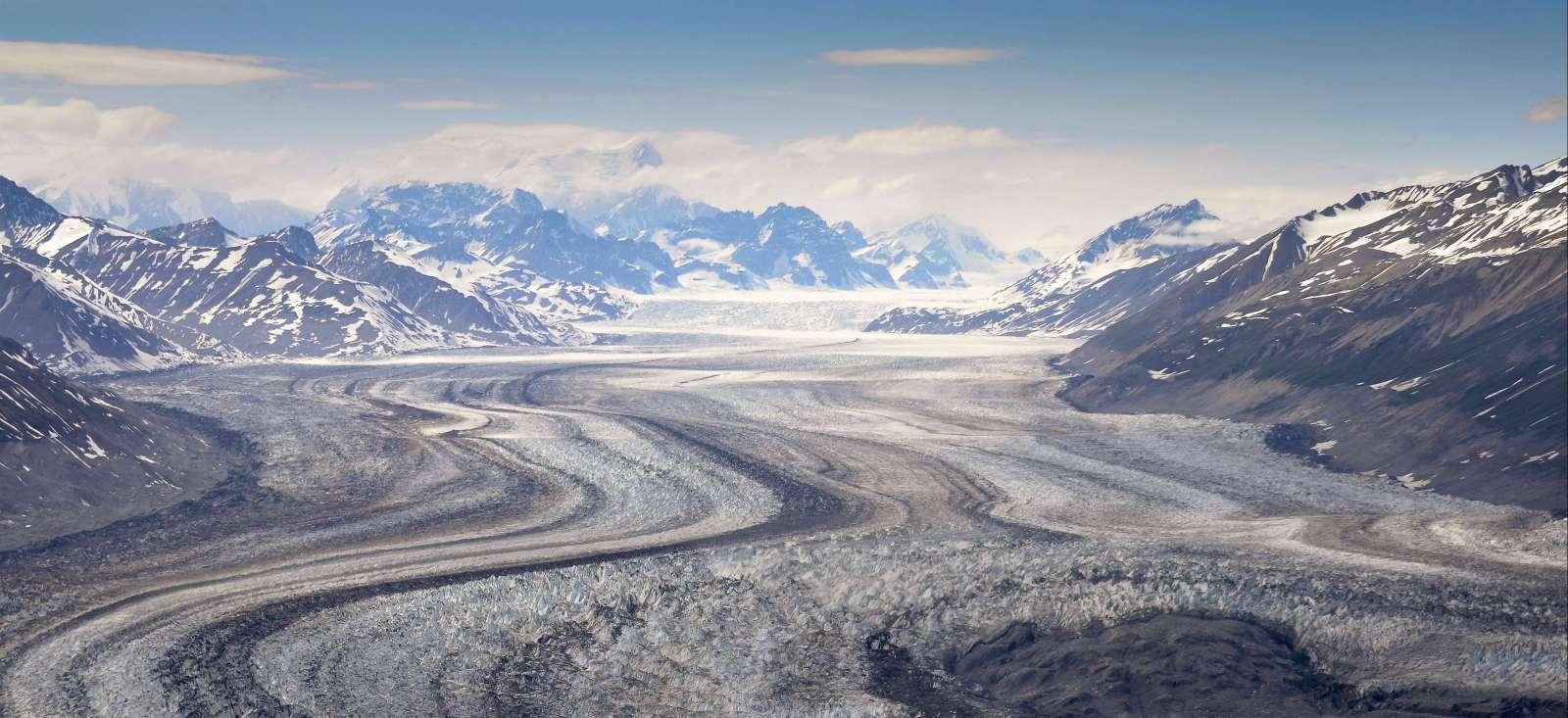 Voyage à pied : Traversée du golfe d\'Alaska