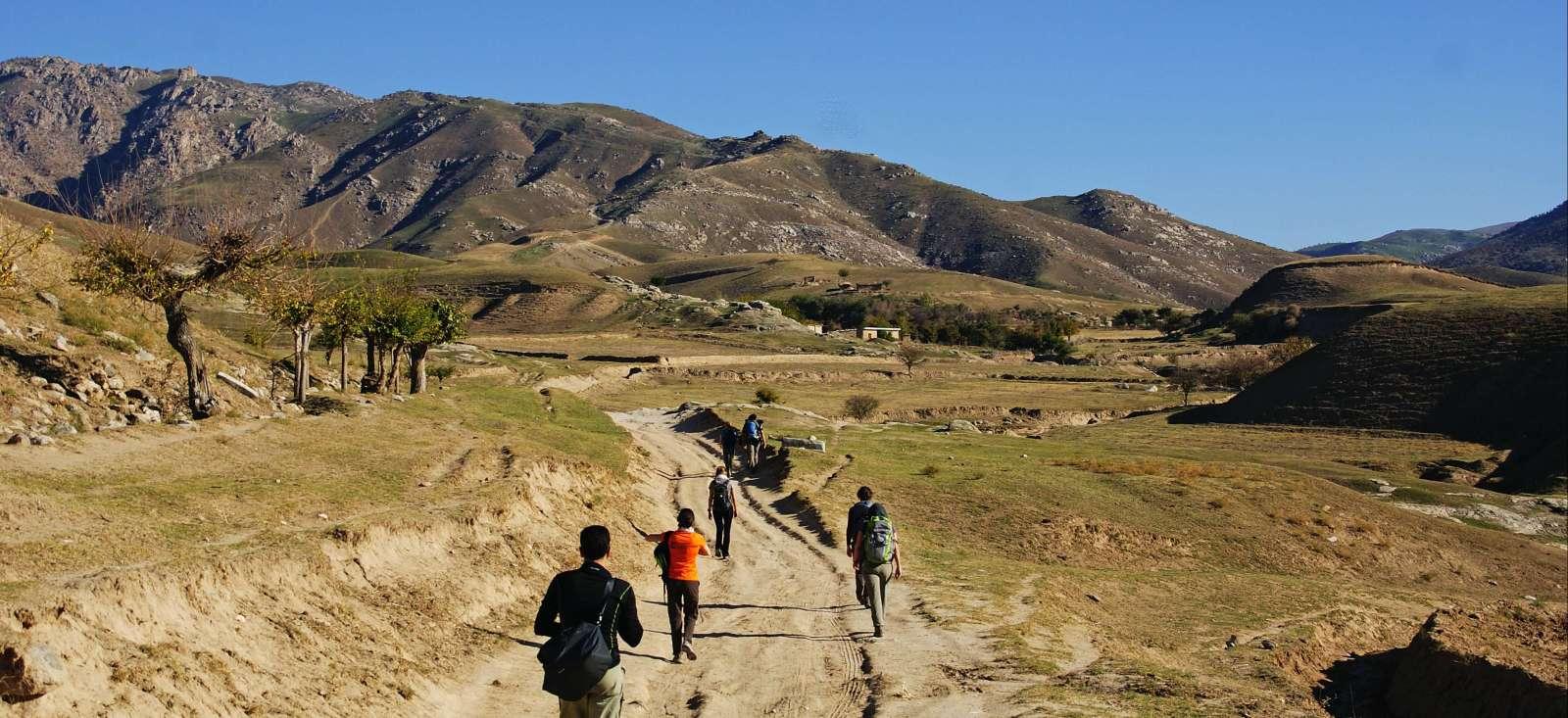 Voyage à pied : Samarcande, sur les sentiers de Timour