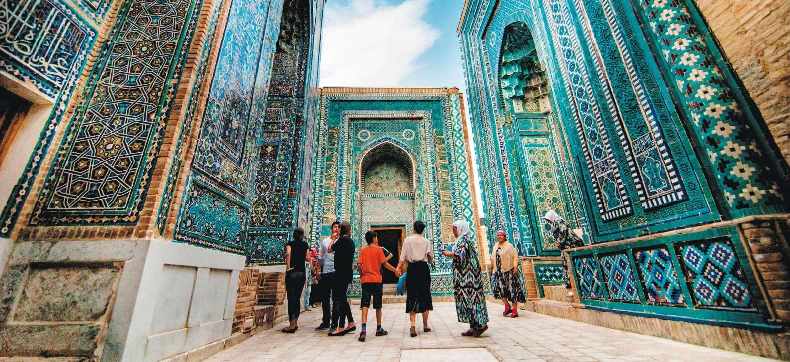 Voyage à pied : Splendeurs d\'Ouzbékistan