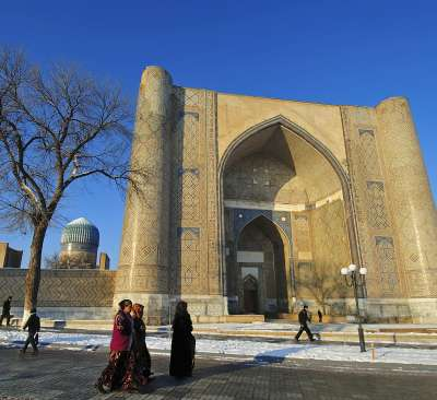 Cest le service de presse du Comité dEtat dOuzbékistan pour le développement du tourisme qui la annoncé le 11 novembre dernier, photo.