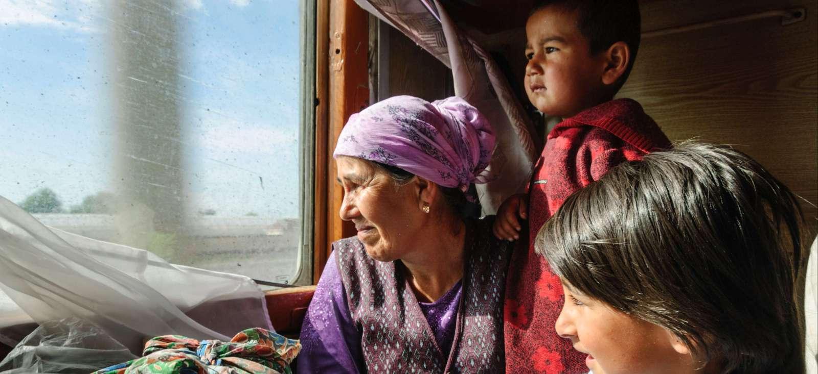 Voyage en véhicule : Sur les traces de Marco Polo�en train !