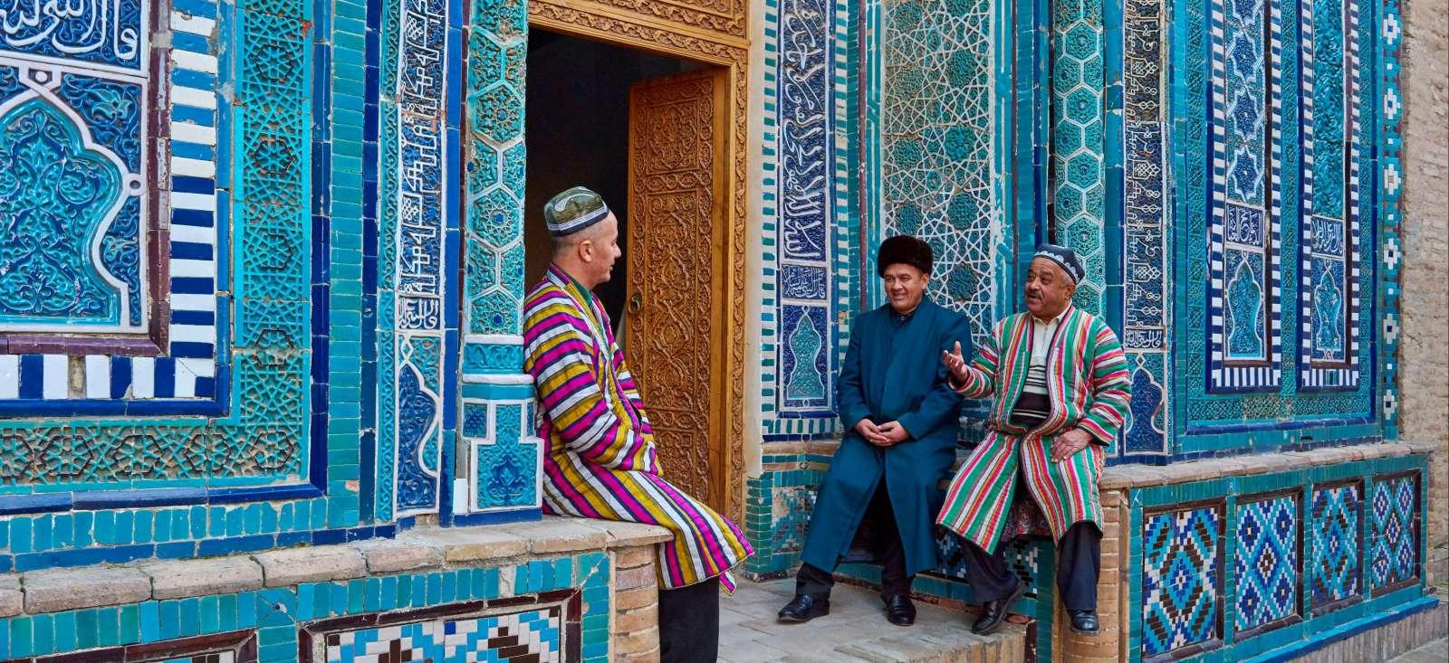 Voyage à pied : Autotour en Ouzbekistan : la Route de la Soie