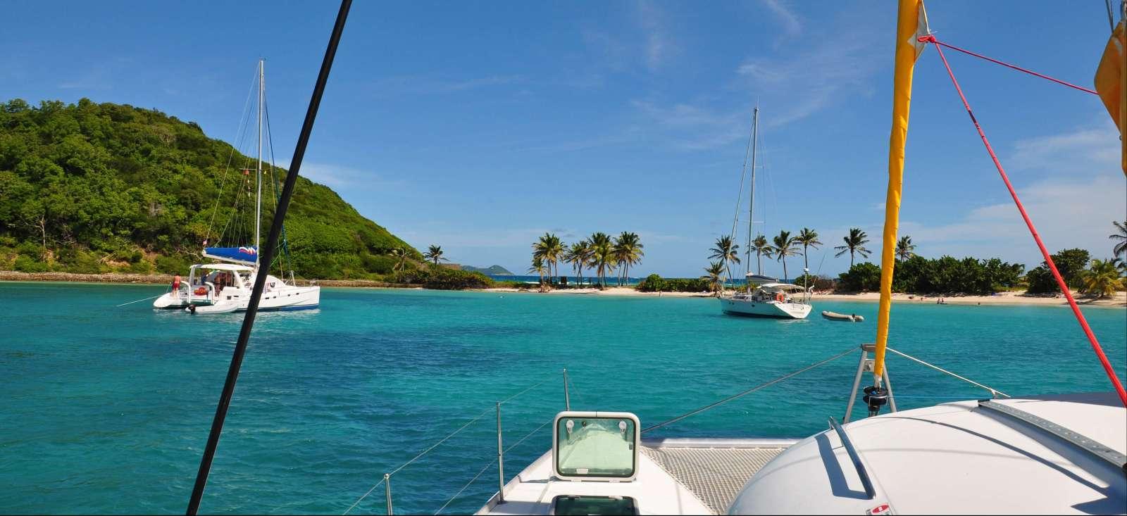 Voyage sur l'eau : Le Coeur Grenadines