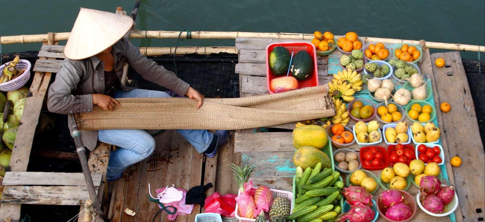 Voyage à pied : Marche et bateau sur le Mékong