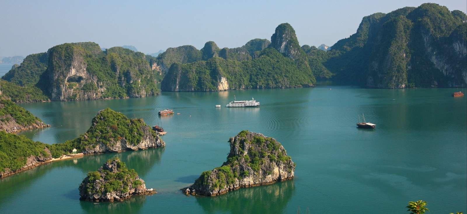Voyage à pied : Les grands sites du Vietnam et + Angkor