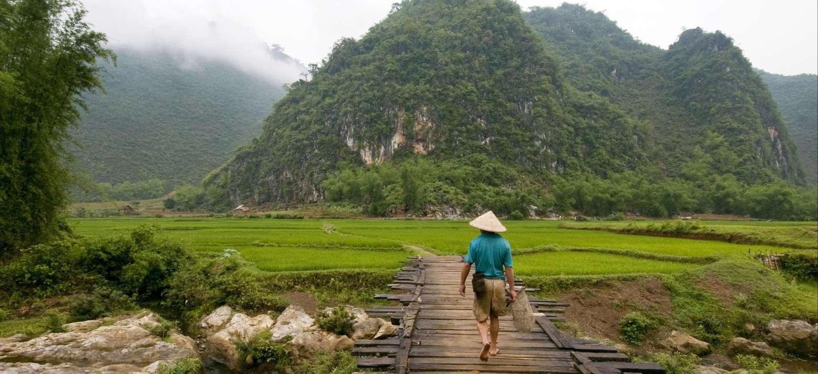 Voyage à pied : Nord Vietnam et villes du centre en liberté !
