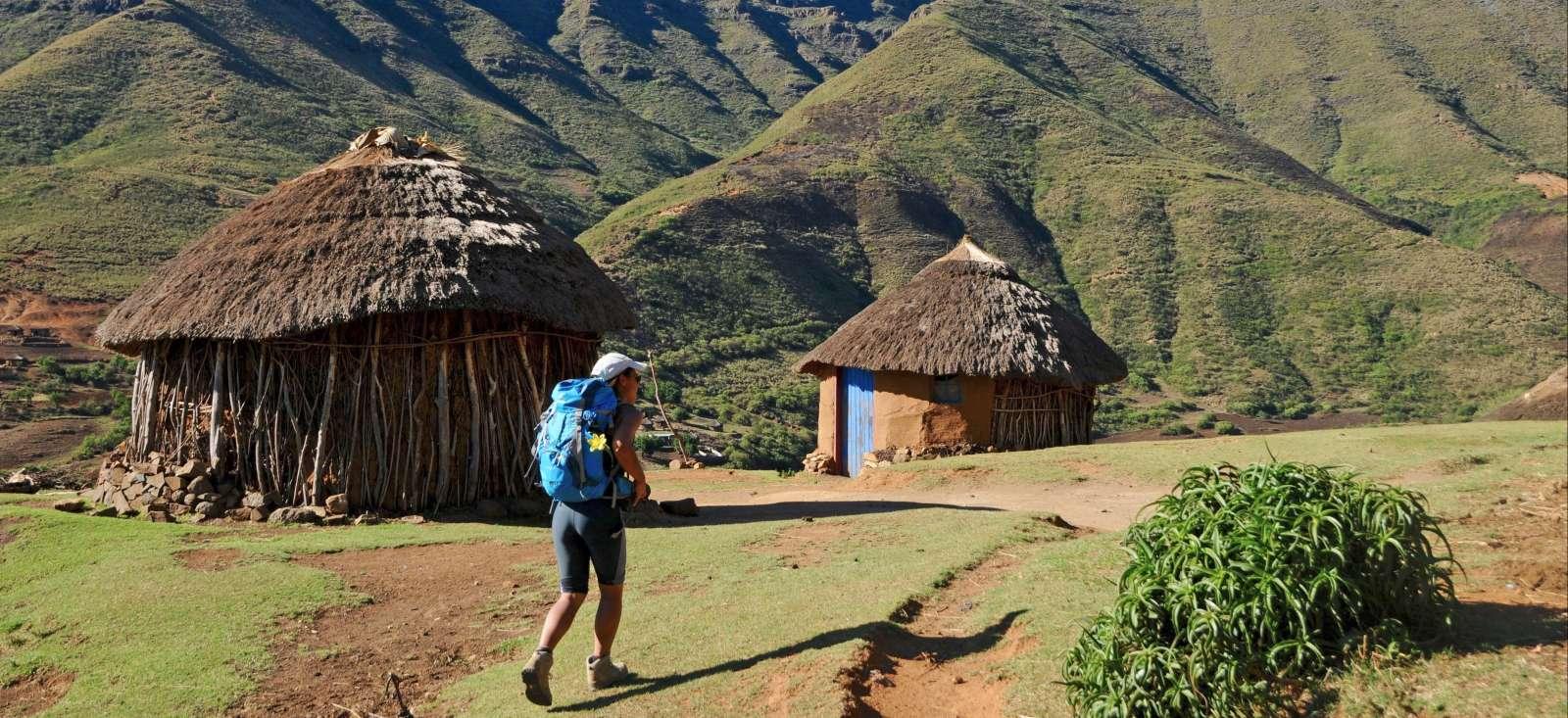 Voyage à pied : Trek du Drakensberg à la \