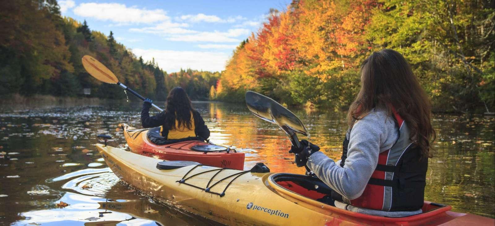 Voyage sur l'eau Canada : Le meilleur du Québec en kayak