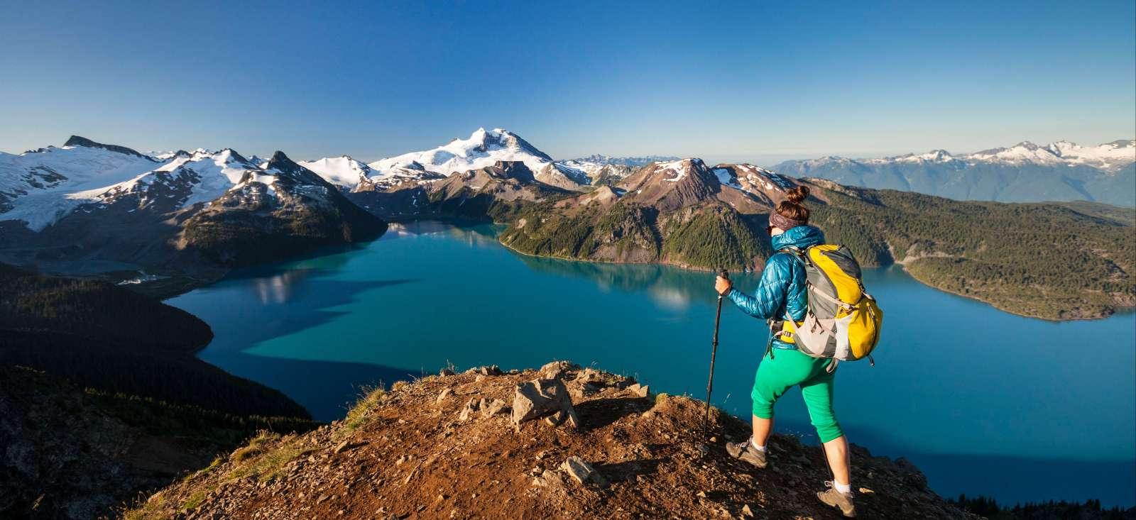Voyage à pied : L\'Ouest Canadien, des Rocheuses au Pacifique