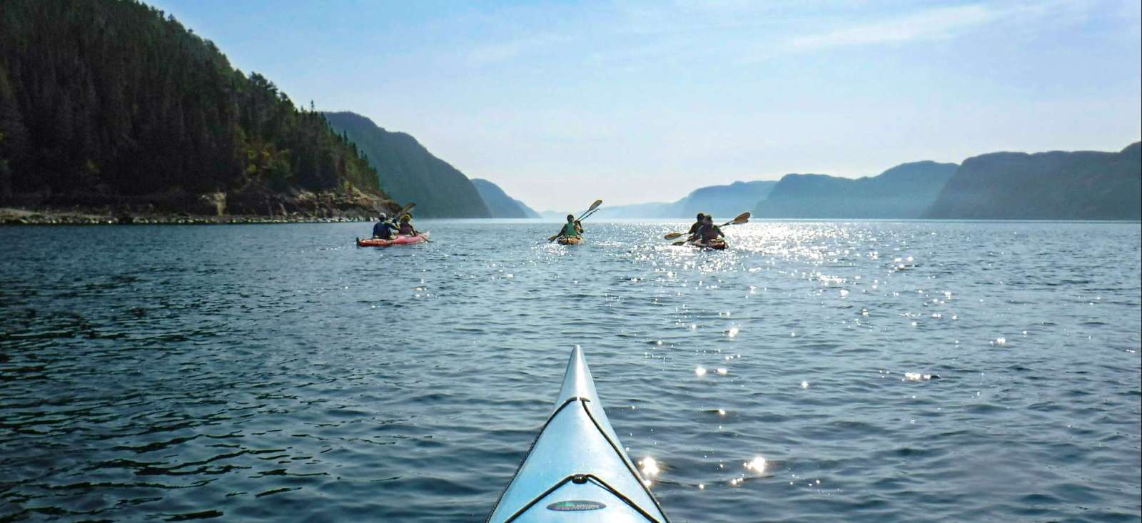 Image Panoramas du Québec en kayak