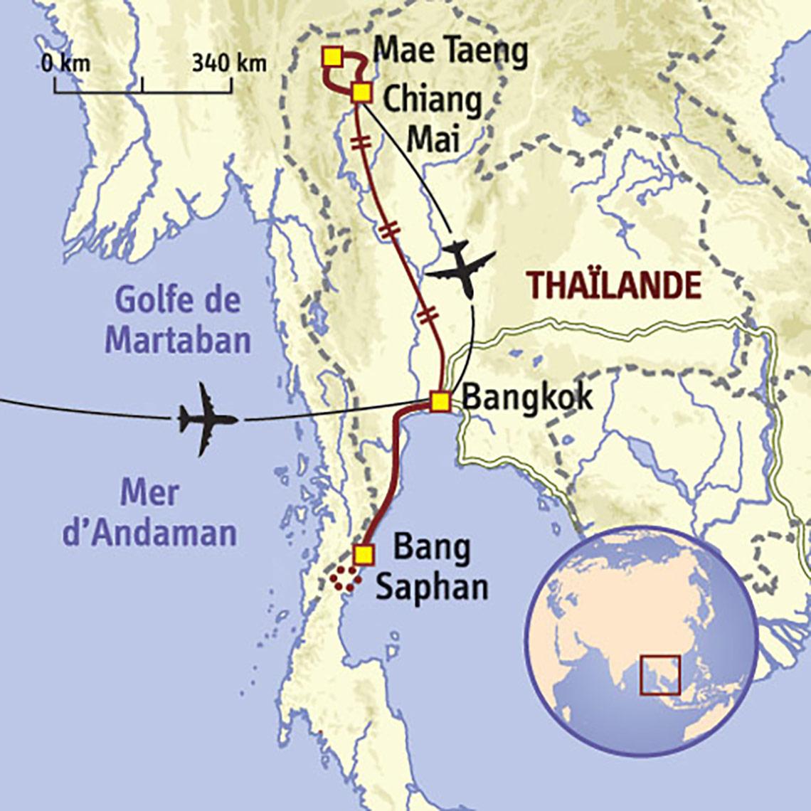 Carte Thailande Voyage En Famille Hors Sentiers Battus Prolongez Votre Aventure