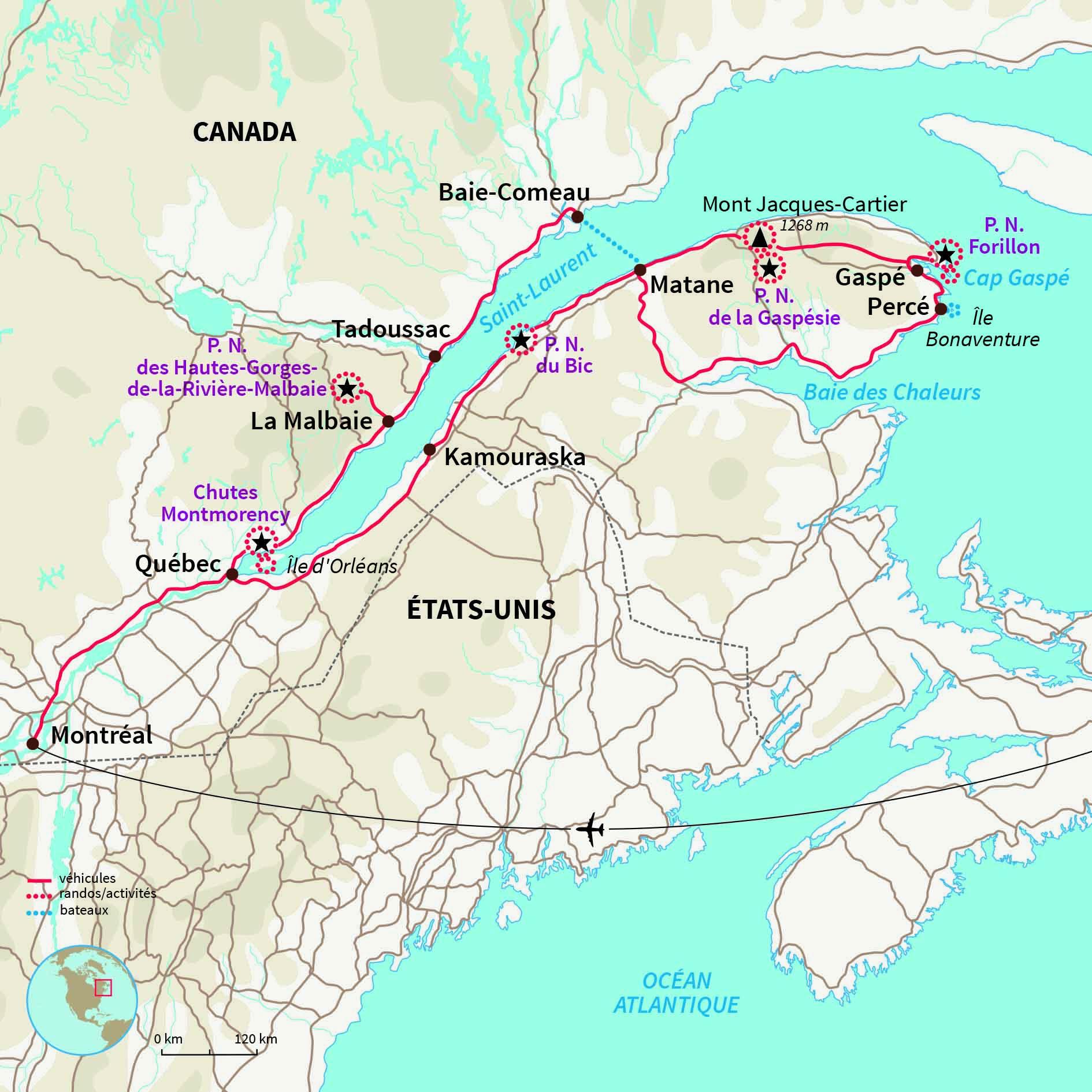 Carte Canada Gaspesie.Voyage Autotour Gaspesie Bienvenue En Gaspesie Nomade