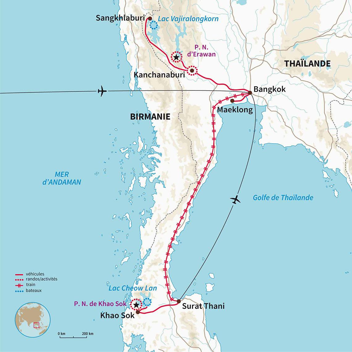 Carte Randonnee Thailande.Randonnee Aventure Thailande Escapade Au Royaume De Siam